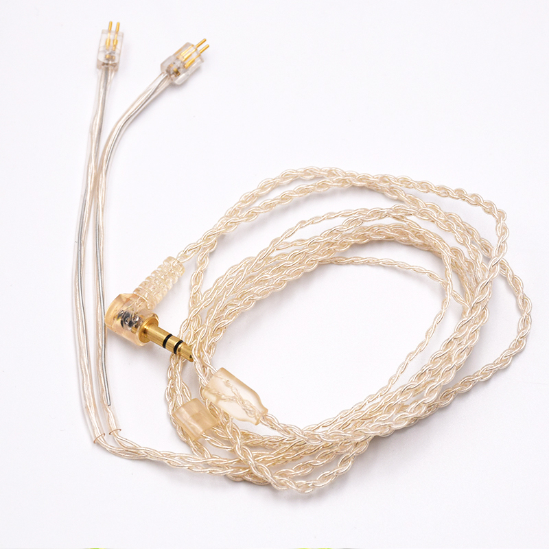 New arrival 2Pin 0.78 sport headphone replacement cable