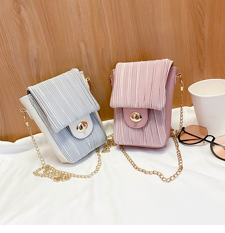 New Style Fashion Simple 2020 Casual All Match Small Square Bag Chain Messenger Bag For Women