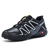 Whole Professional Quality Soft Sole Terrain Large Size Wear Resistant Solomon Trail Running Shoes