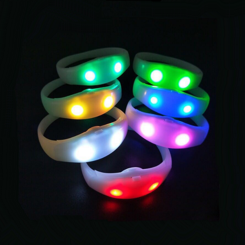 Cheapest party favors,led party favors led flashing wristbands for bar nightclub concert party shows China factory