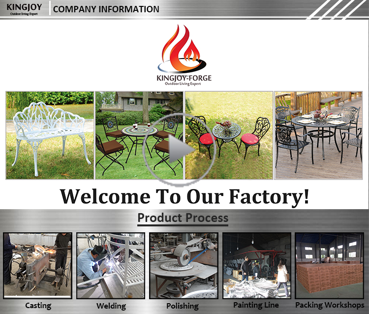 Hot sale modern outdoor aluminum profile garden furniture