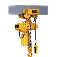 high quality dual speed 2 ton electric chain hoist