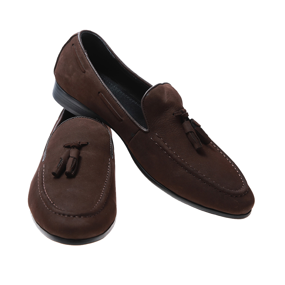 New fashion breathable cow leather hand made factory price light weight shoes for men