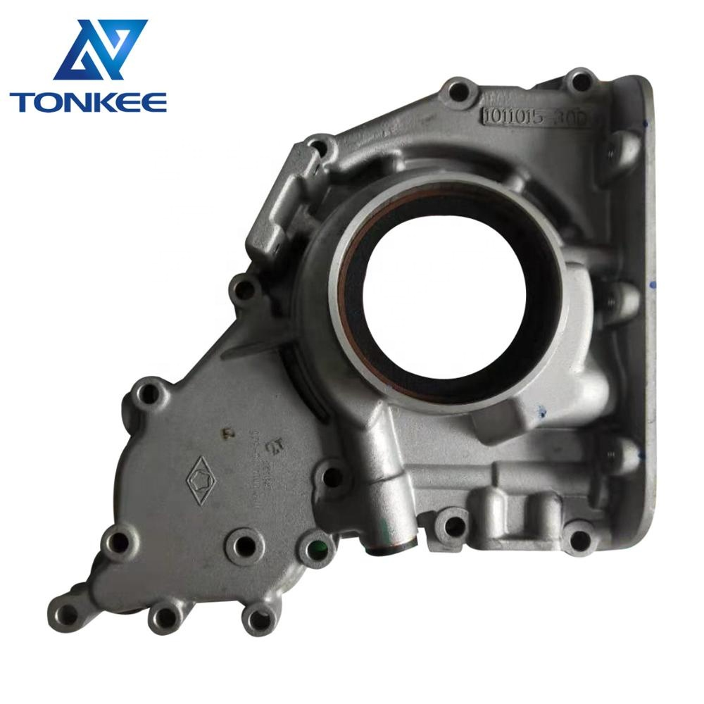 1011015-30D 21600195 engine oil pump EC200D EC210D ECR235E EW140B BL60 L40B SD110 D5D oil pump housing suitable for DEUTZ VOLVO