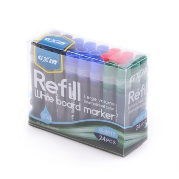 Gxin Non-Toxic Refill Ink Dry Erase Refillable Whiteboard Marker Set