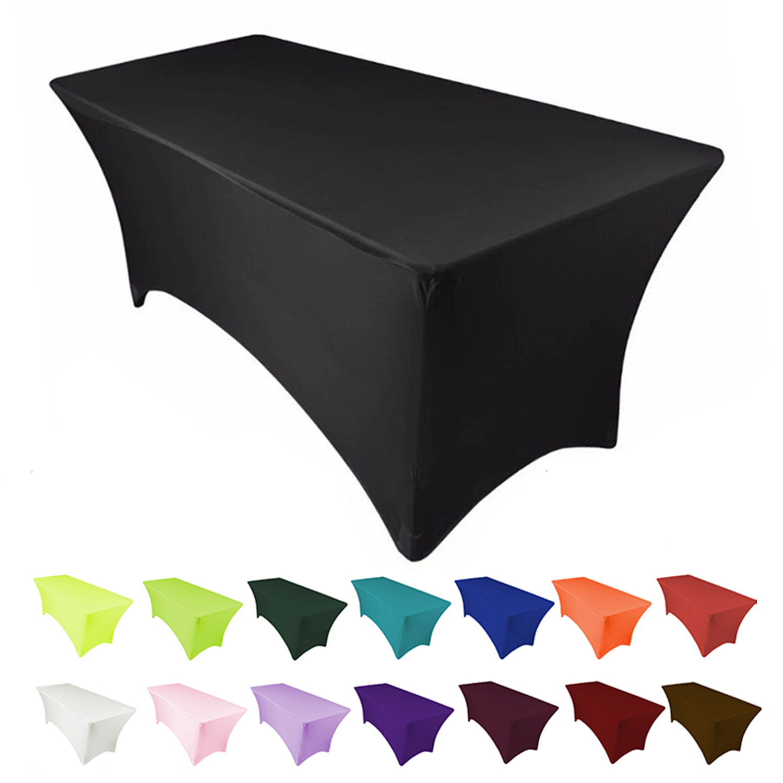 spandex tablecloth,2 Pieces, 24 colors