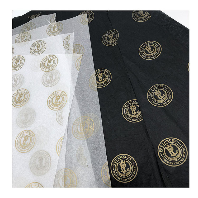 Wholesale Logo Printing Paper Tissue/Gift Wrapping Tissue Paper/Custom Printed Tissue Paper