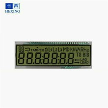 Panel 15 jaar Levensduur lage temperatuur-25 energie meter <span class=keywords><strong>lcd</strong></span> display custom ontworpen 7 segment display <span class=keywords><strong>TN</strong></span> <span class=keywords><strong>LCD</strong></span> Panel
