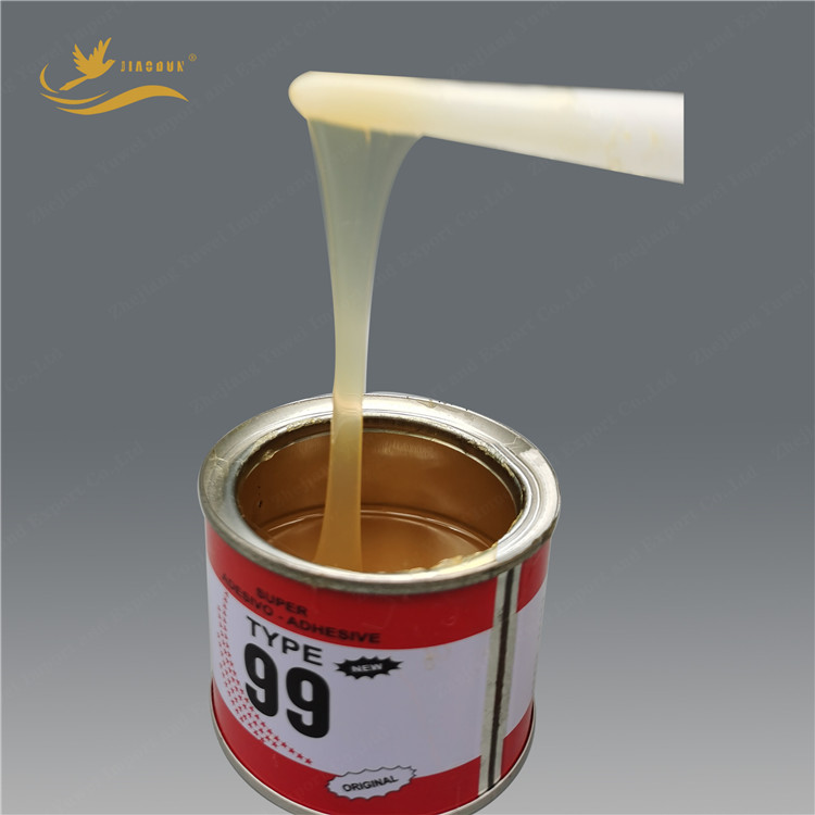 Neoprene fabric rubber  contact cement adhesive glue for joining leather universal glue