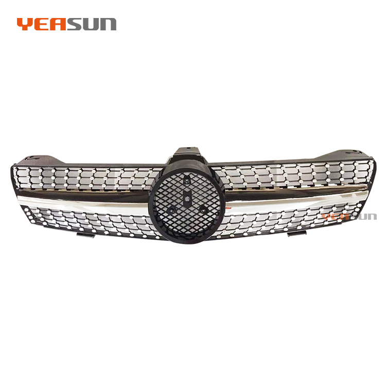 Diamond W219 grille 2005 2008 2011 for mercedes benz CLS300 CLS350 CLS500 CLS550