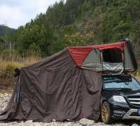 Travelling Tour Car Awning Hard Shell Rooftop Tent Foldable Car Roof Top Tent