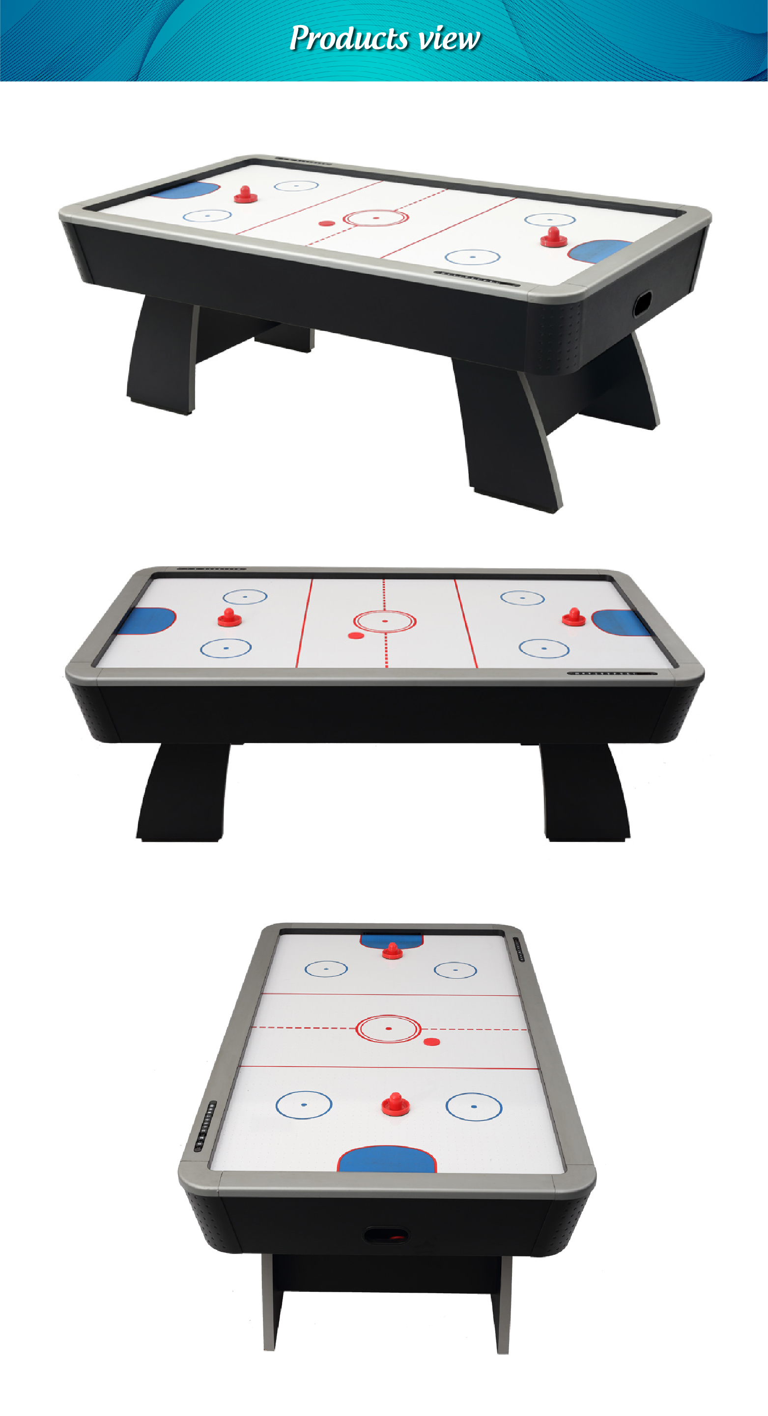Professional tournament choice air hockey table for adults