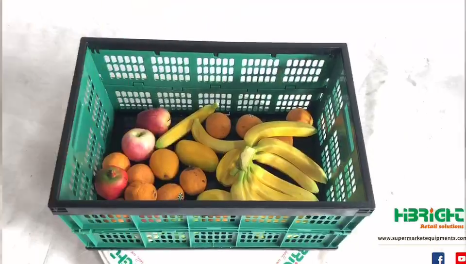 Foldable Plastic cases for food