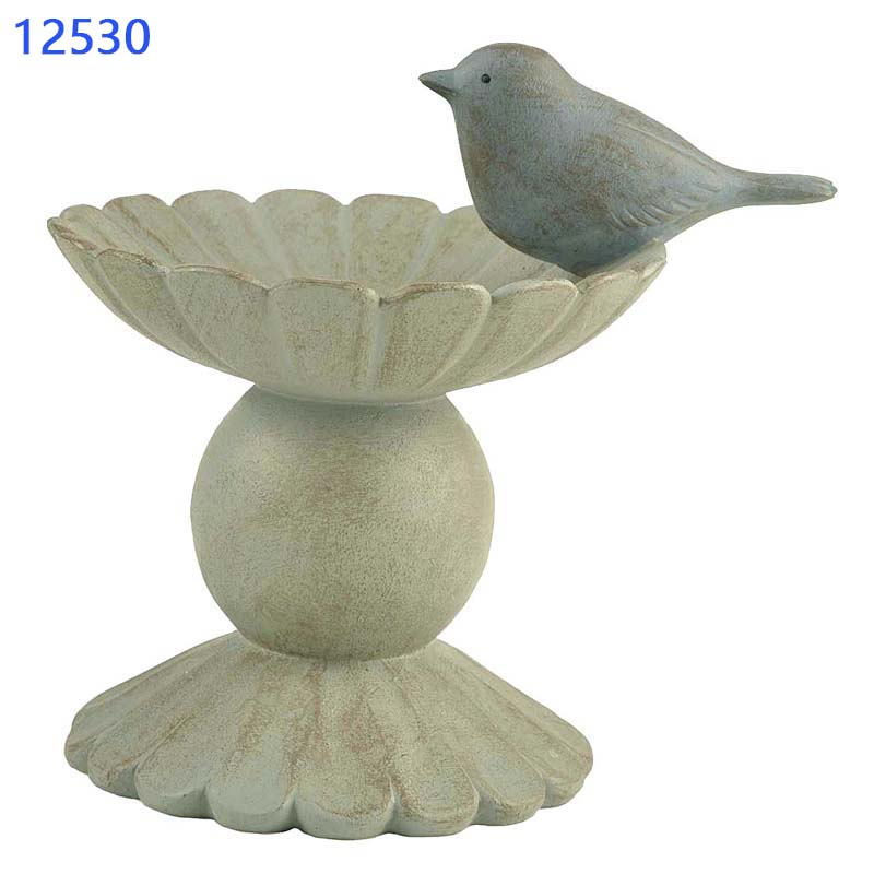 Poly Resin Bird on Stand Home Decore Statues Polyresin Trophy Store Window Display Props