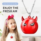 Wholesale price mini usb negative ion necklace wearable air purifier