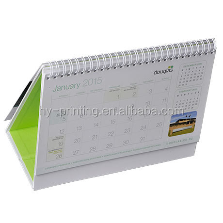 Wholesale well designed custom cheap calendar printing for advertising