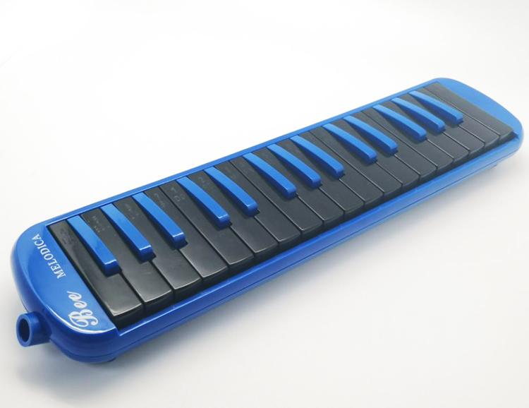 Teclado instrumento musical easttop nova 32 melodica chave melodica cor