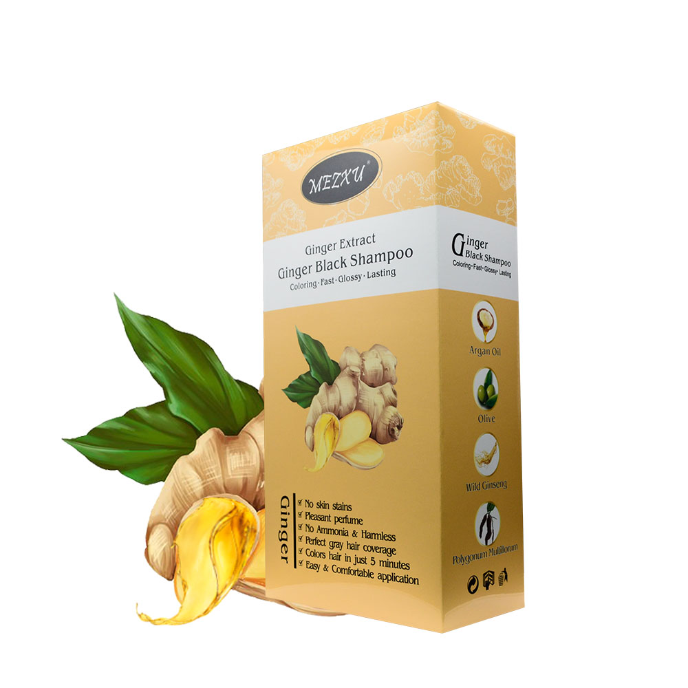 Make Hair Black Shampoo Natural Non Allergic Hair Color Wholesale