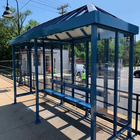 Stainless Steel Advertising Bus Shelter Prices