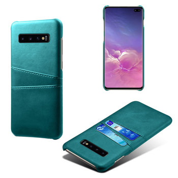 Fashion Design Luxury PU Card Cover Shock Proof Solid Color Phone Case For Samsung S10