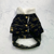 Popular Logo Pet Autumn Winter Cotton-Padded Dog Clothing with Fleece Cat Fashion Coat for Leisure