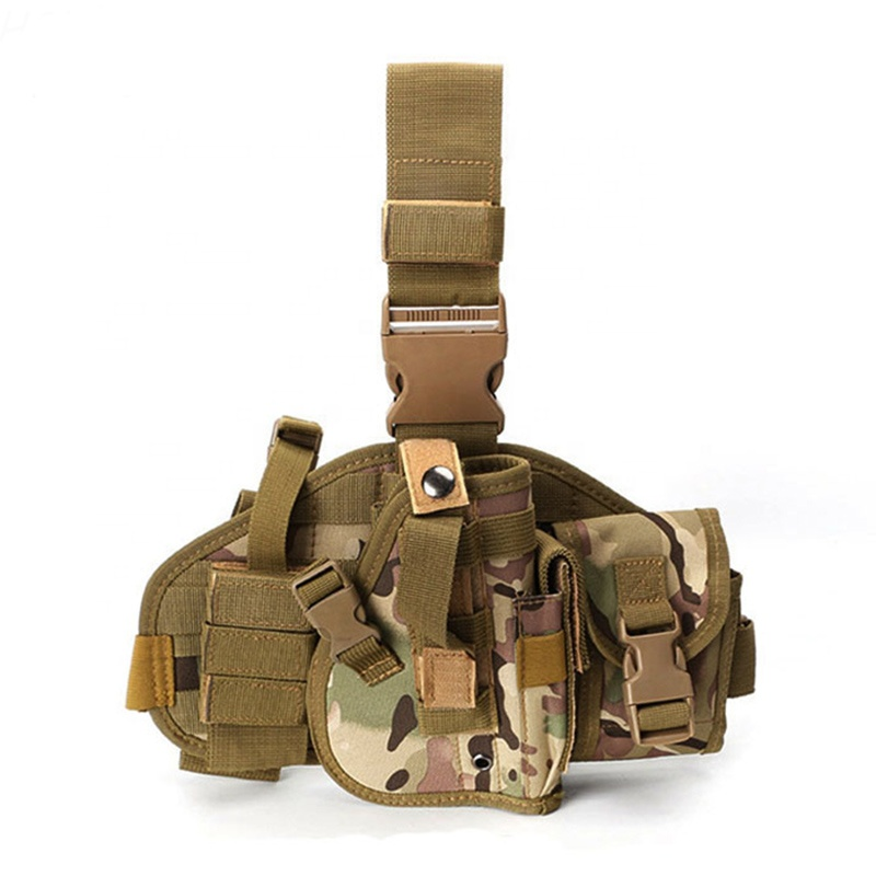Tactical Gun <strong>Holster</strong> Thigh Drop <strong>Leg</strong> Bag Adjustable Strap Military Thigh <strong>Leg</strong> Pistol Gun <strong>Holster</strong> with Outdoor Tactical Pouch