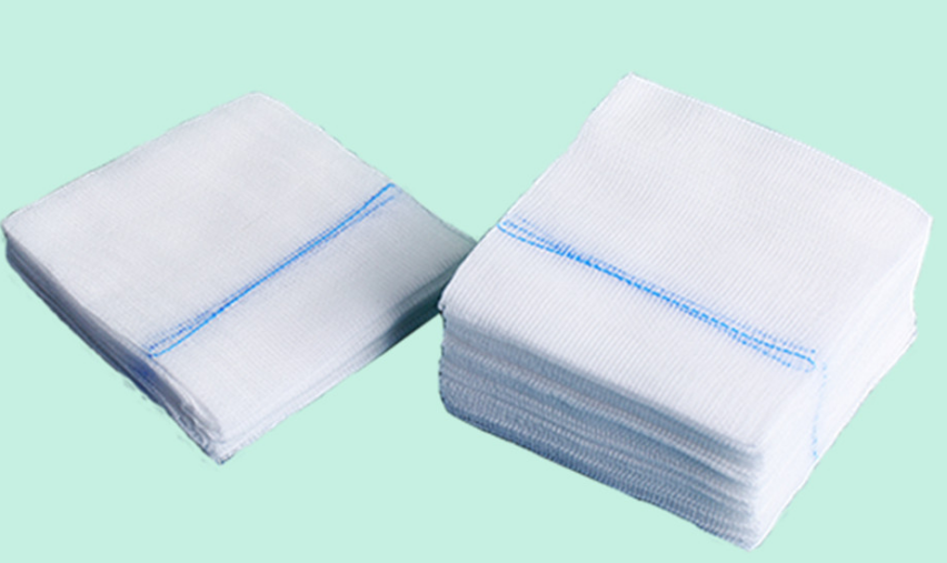 100% Cotton 10cmx10cm 8ply Medical Gauze Swabs 0