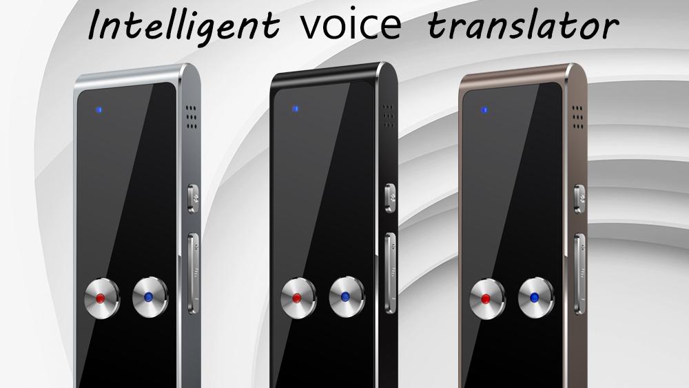 Dil elektronik İş çeviri cep taşınabilir Ai cep hoparlör akıllı cihaz çevrimdışı sözlük 2020 ses çevirmen