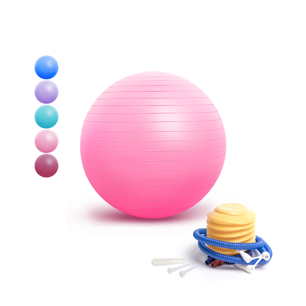 PVC custom mini <strong>yoga</strong> exercise <strong>ball</strong> fitness gym pilates <strong>yoga</strong> <strong>ball</strong> 25cm 55cm 65cm 75cm with pump logo