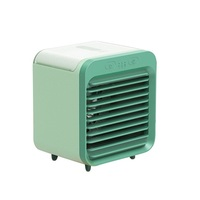 2020 USB portable Air Conditioner Light Desktop Humidifier Purifier mini air cooler fan for office bedroom