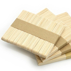 Wooden Sticks Wooden Stick Hand Craft Customized Flexible Wooden Ice Cream Popsicle Sticks