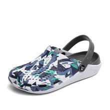 Женские тапочки, летние сабо, открытые сандалии для бассейна, садовая пляжная обувь, шлепанцы для водяного душа, легкие мюли с уведомлениями(Китай)
