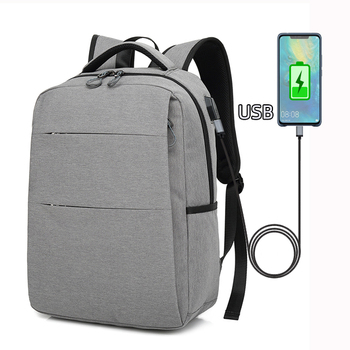 2020 Wholesale custom waterproof outdoor oxford polyester men 15 15.6 16 17 17.3 inch USB charging laptop backpack