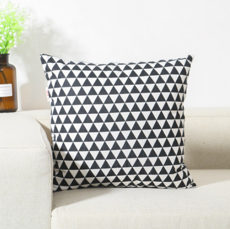 Factory direct support customization Pattern cotton linen sofa cushion cover