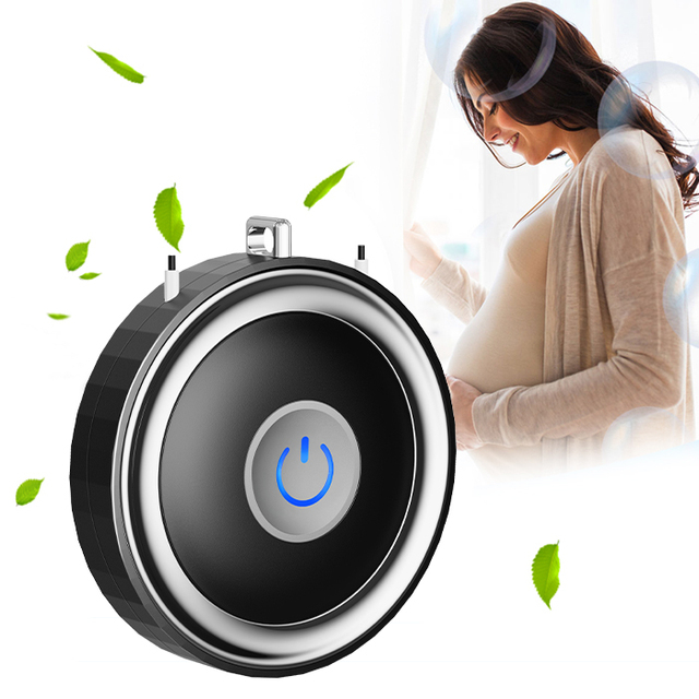 Outdoor Wireless China Personal Rechargeable Negative Ion Necklace Air Purifier