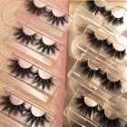 3d mink eyelashes vendor free sample wholesale 3D Mink eyelash Mink lashes, Hand made 25mm Mink eyelashes, Custom Private Label