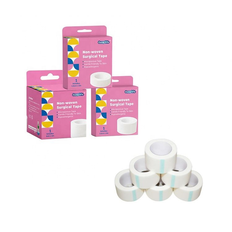 Free samples surgical nonwoven paper adhesive tape