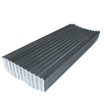 Corrugated Steel GI galvanized Plate Roofing Sheet Tiles Metal Made In China