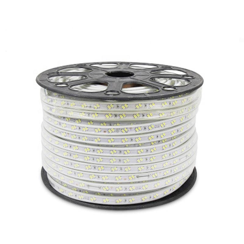 Flexible LED Strip Light AC220V SMD5730 120leds/m Waterproof IP67 Led Tape LED Light CE Rosh Led Strip Lights