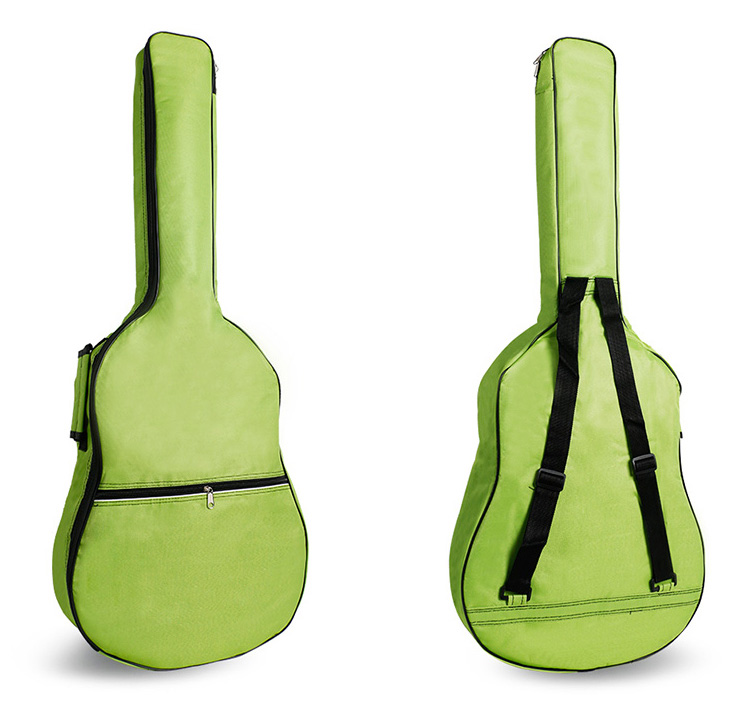 36-41 Inch Acoustic Guitar Bag 5mm Thick Padding Waterproof Dual Adjustable Shoulder Strap Guitar Case Gig Bag