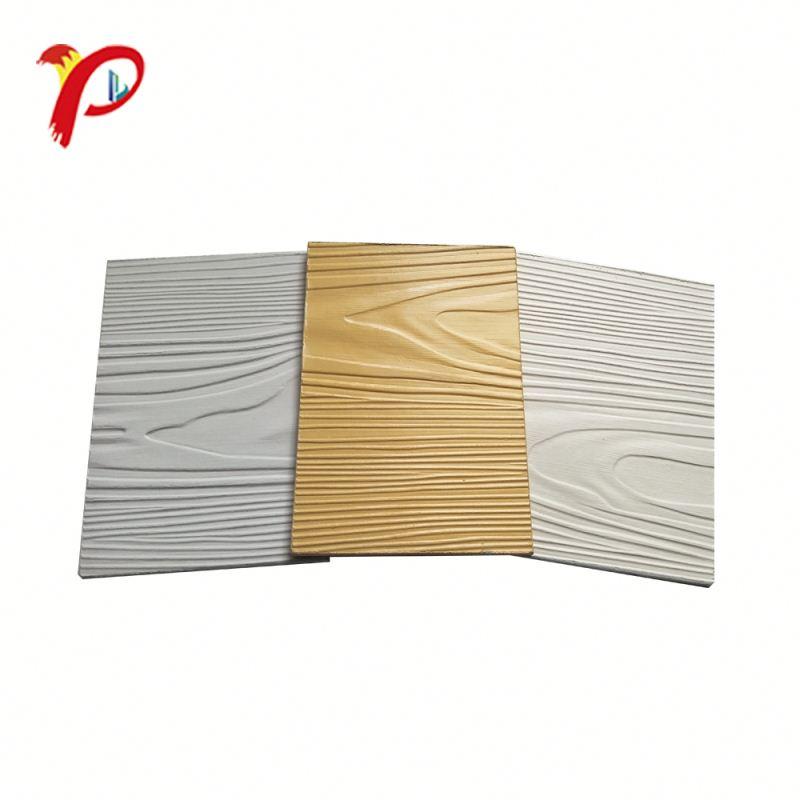 Горячая продажа цена по прейскуранту завода древесины волокна цемента сайдинг оптовая торговля