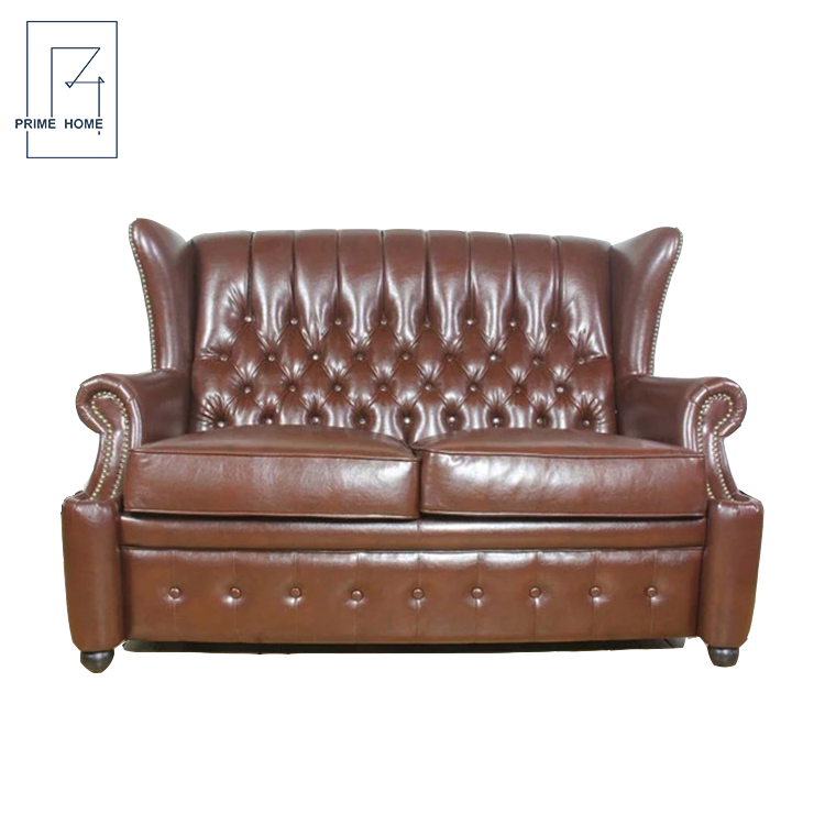 Support Oem Economical Leather Sofa