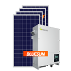 Energy Solar 10kw Solar Panels Bluesun Renewable Energy Home 10 Years Warranty Solar Panel Power System 10Kw On Grid