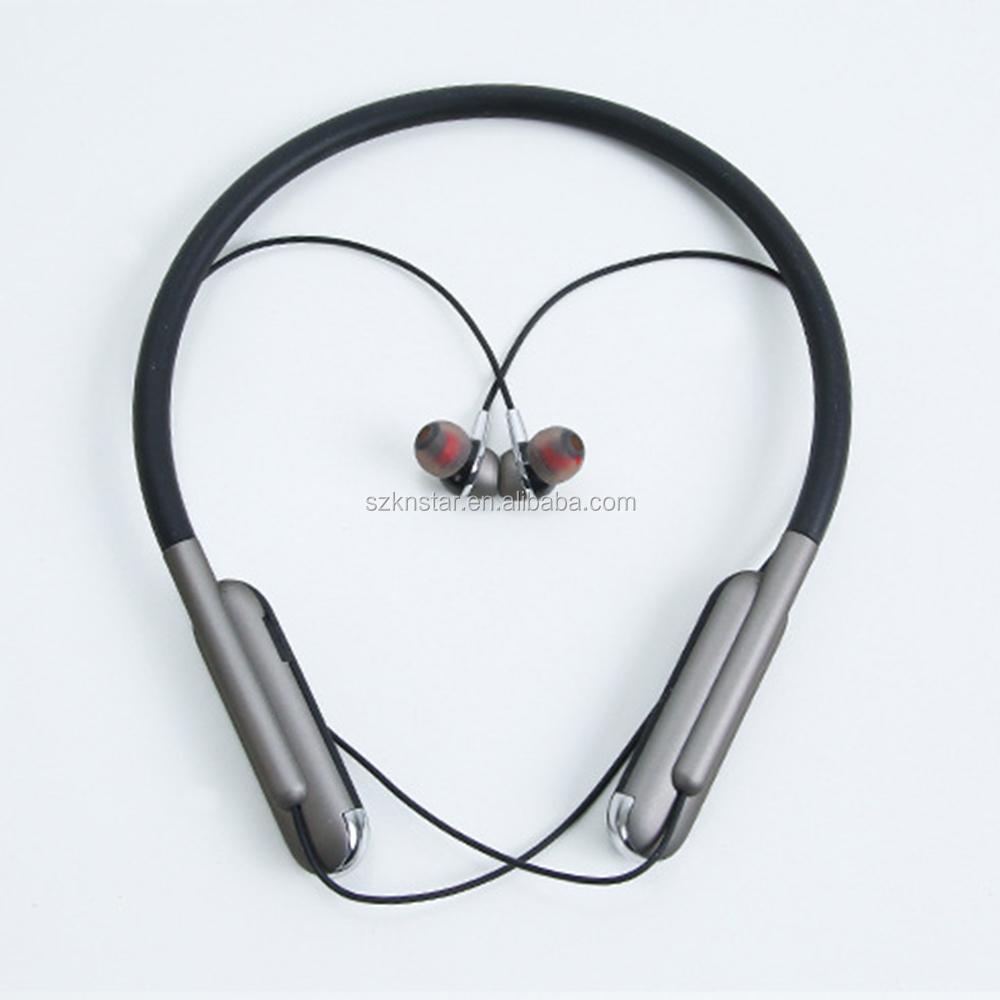 cheap Wireless sport headphones wired  neckband Anti-off Design wireless motion headset boat headphones BT2105