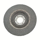 Silicon Pad Abrasive Flap Disc SATC 5inch Silicon Carbide Abrasive Flap Disc With Fiberglass Backing Pad Type29 100Grit