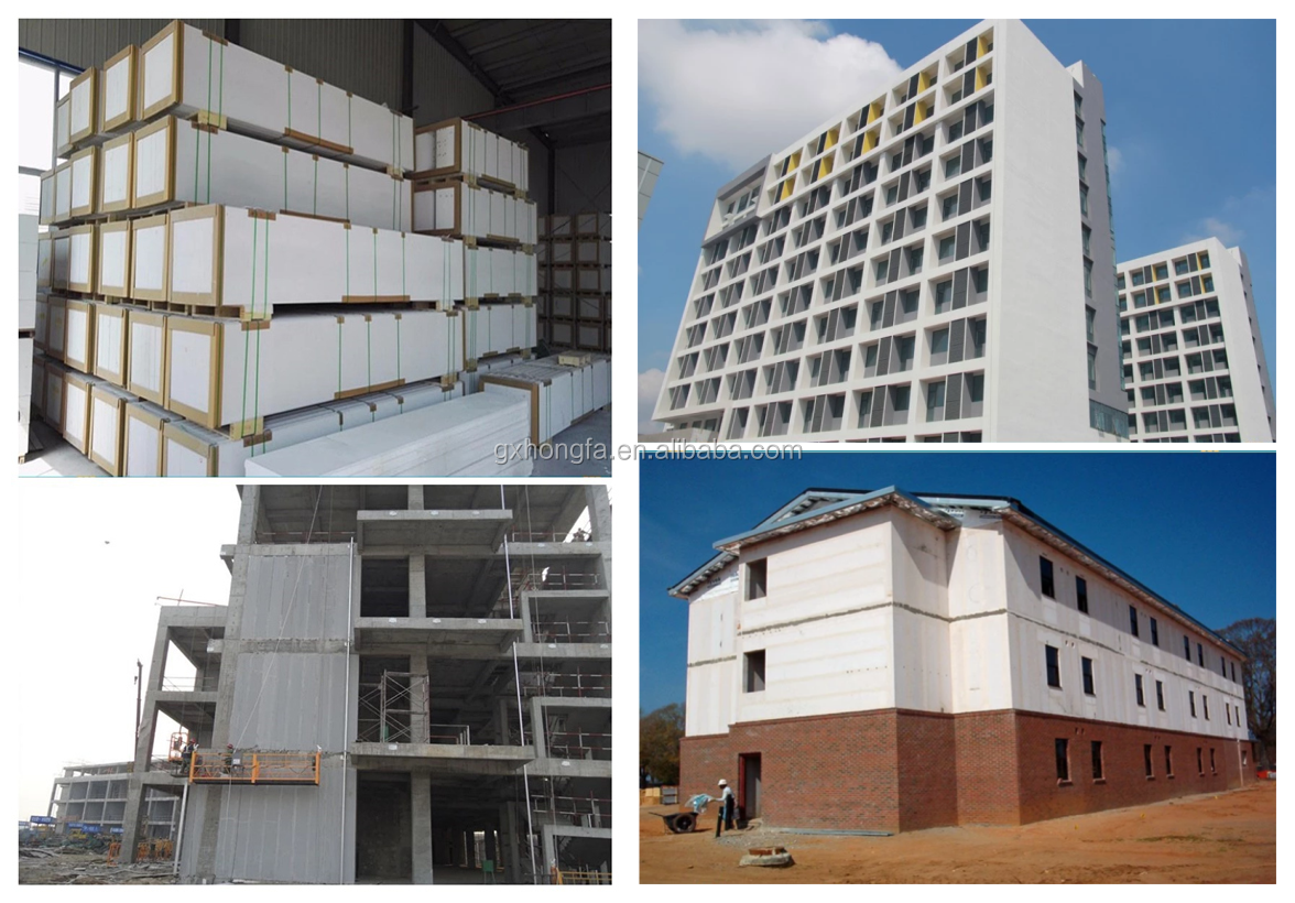 Lightweight Autoclaved Aerated Concrete Aac Panel Making