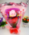 Creative Dancing Singing and Light Up Rose Plush ToysValentine's Day gift
