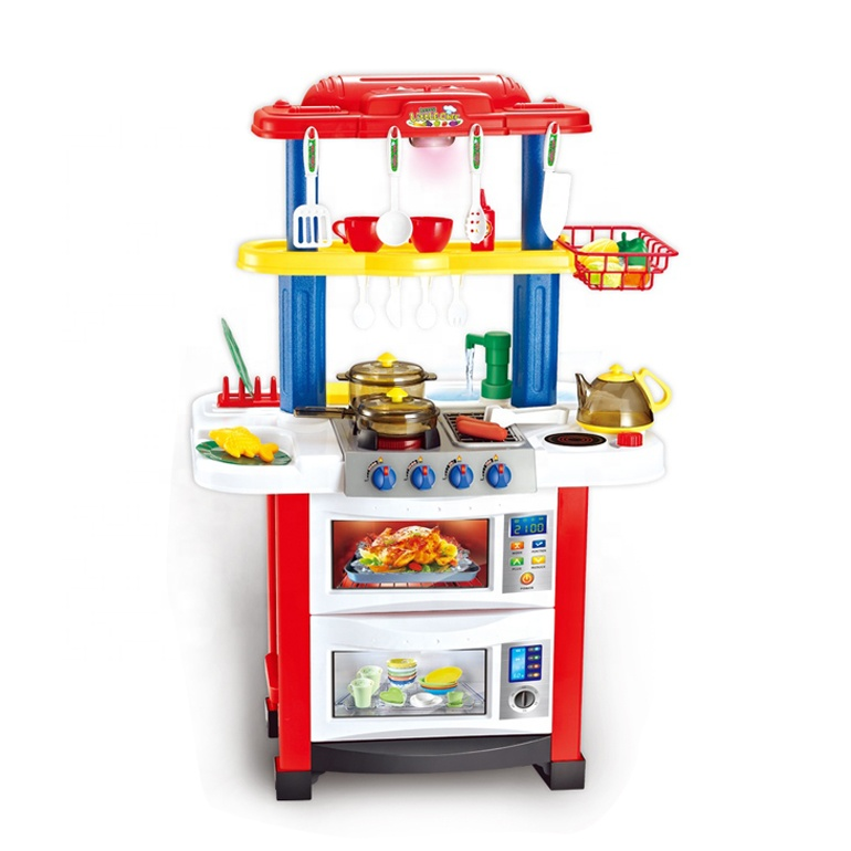 Juguetes <strong>para</strong> los ninos Kids kitchen set toy pretend play ice cream cart toy for girls