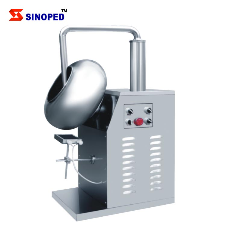 Hot Sale Candy coating pan machine for coveing nuts /chocolate /candy