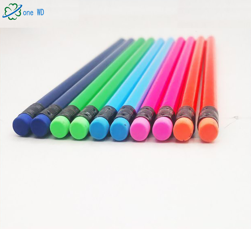 Manufacturers supply non-toxic promotions Children blue black wood  pencils